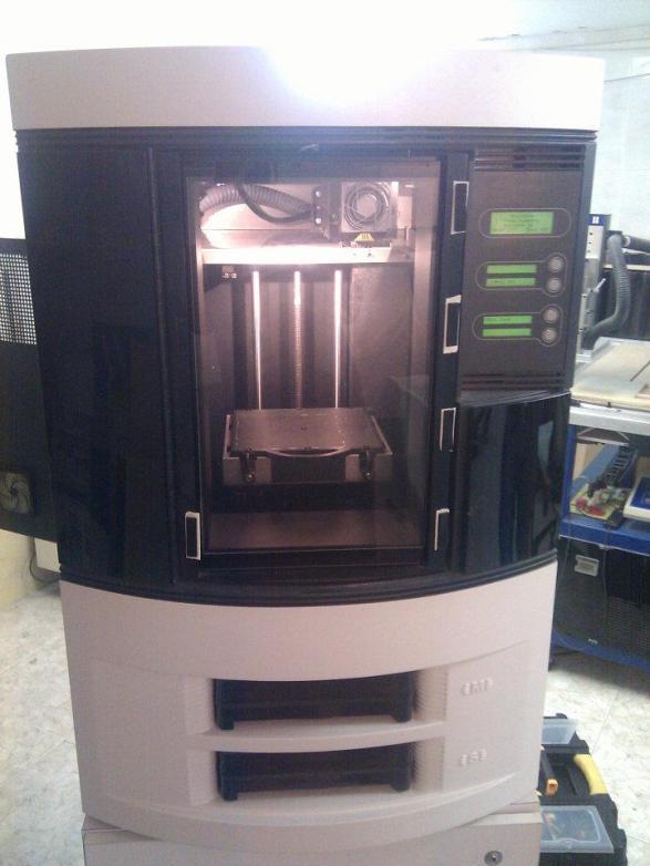 Visitando Impresoras 3D profesionales