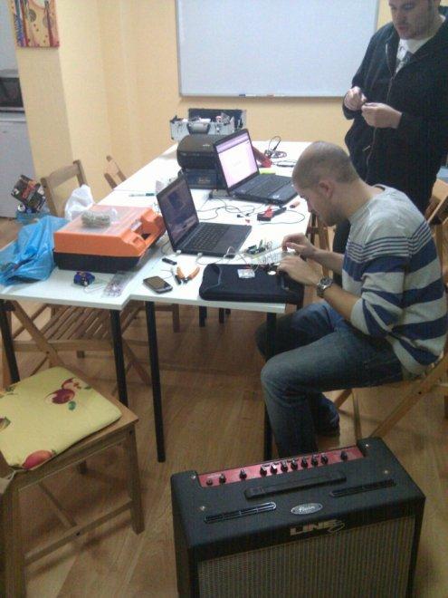 Construyendo una bateria electrónica