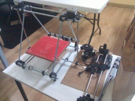 Construyendo impresora 3D